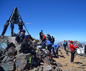 Randonnée ascension Toubkal